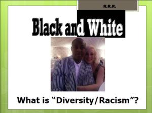 RACISM AND DIVERSITY MODULE PIC